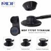 گوشی پزشکی دو طرفه بزرگسال و اطفال از جنس تیتانیوم 1 مدل MDF 777DT