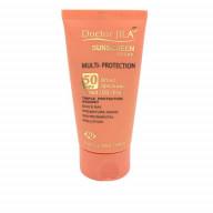 کرم ضد آفتاب مولتی پروتکشن SPF50 رنگی دکتر ژیلا Dr Jilla SunScreen Multi Protection Cream SPF50 Tinted