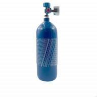 کپسول اکسیژن آهنی پرتابل حجم 2 لیتر