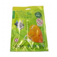 ماسک سوپاپ دار آنتی باکتریال N94 رسپی نانو نارنجی (consumables)
