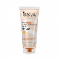 کرم ضد آفتاب رنگ بژ روشن سی گل Seagull Oil Free Tined Sunscreen Cream SPF30 40ml Light Beige