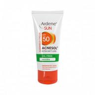 کرم ضد آفتاب بی رنگ 50 SPF آردن فاقد چربی مدل Acnesol حجم 50 میلی لیتر