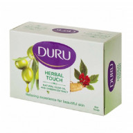 Duru Natural Olive Oil and Ginseng Extract Bar Soap صابون آرایشی دورو حاوی عصاره زیتون و جینسینگ