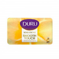 صابون آرایشی دورو گل یاسمن و روغن بابونه Duru Smooth Touch Jasmine & Camomile Oil Soap