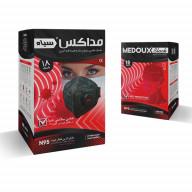 ماسک N95 فیلتردار کربن فعال مداکس بسته 18 عددی