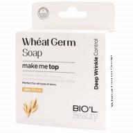 صابون پاک کننده صورت بیول حاوی جوانه گندم مناسب انواع پوست حجم 100 گرم