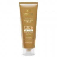 کرم ضدآفتاب رنگی سینره SPF 30 مناسب پوست های معمولی تا خشک و حساس
