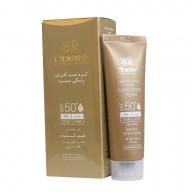 کرم ضد آفتاب رنگی سینره SPF50 مناسب انواع پوست حجم 50 میلی لیتر