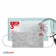 ماسک سه لایه کربن فعال یحیی بسته 10 عددی