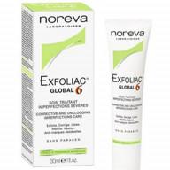 کرم ضد جوش گلوبال 6 نوروا سری Exfoliac