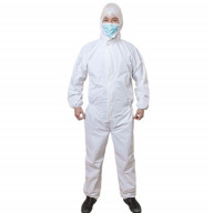 لباس ایزوله یکپارچه سفید KMT