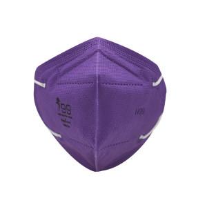 ماسک شش لایه N99 رسپی نانو مدل وی بسته 10 عددی HAPPY 1