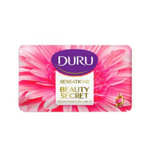 Duru Soap With Passion Flower And Shea Butterصابون آرایشی دورو گل ساعتی و کره شی باتر