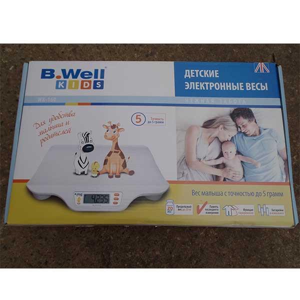 ترازوی دیجیتال نوزاد بی ول مدل WK160
