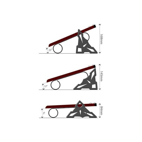 زیرپایی ماساژور کلاسیک باراد FR2