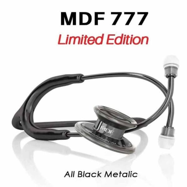 گوشی پزشکی دو طرفه دولوکس از جنس استیل 1 مدل MDF 777