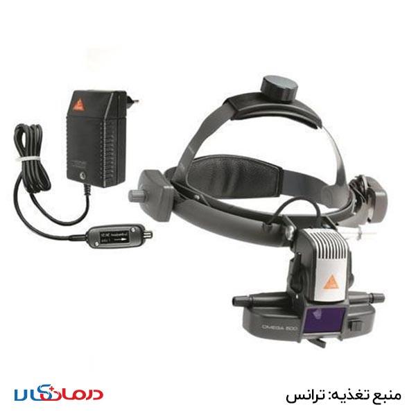 افتالموسکوپ غیر مستقیم مدل Omega500 با هدبند