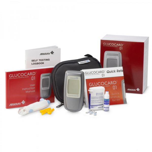 دستگاه تست قند خون آرکری Glucocard 01