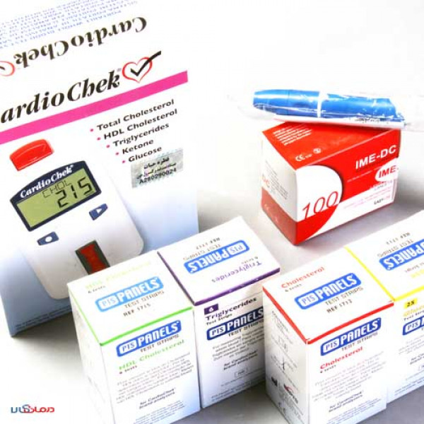 دستگاه چهار کاره سنجش کلسترول، HDL، تری گلیسیرید و قند کاردیوچک