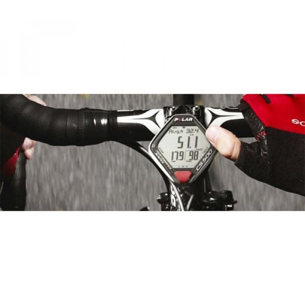 ساعت ورزشی دوچرخه سواری حرفه ای پلار CS500