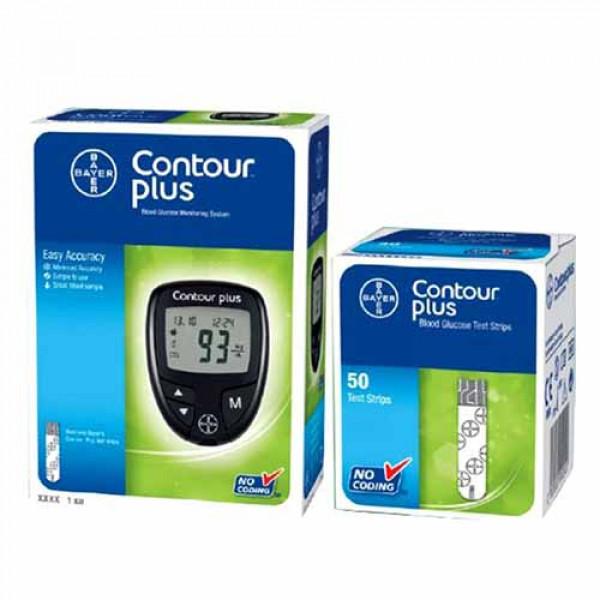 دستگاه تست قند خون بایر Contour Plus
