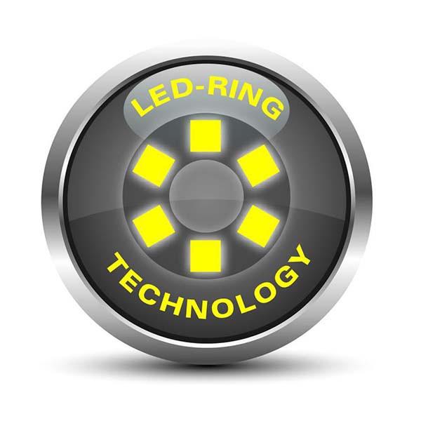 درماتوسکوپ 2.5 ولت LED لوکسامد