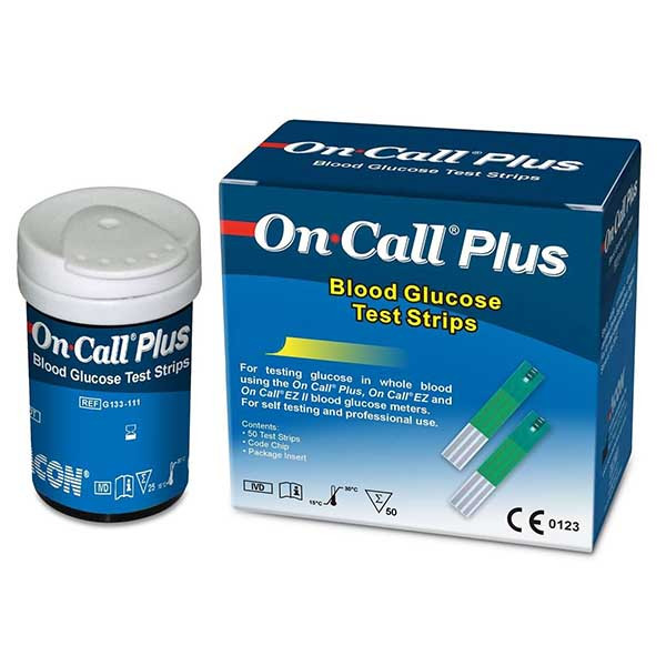 نوار تست قند خون On Call Plus