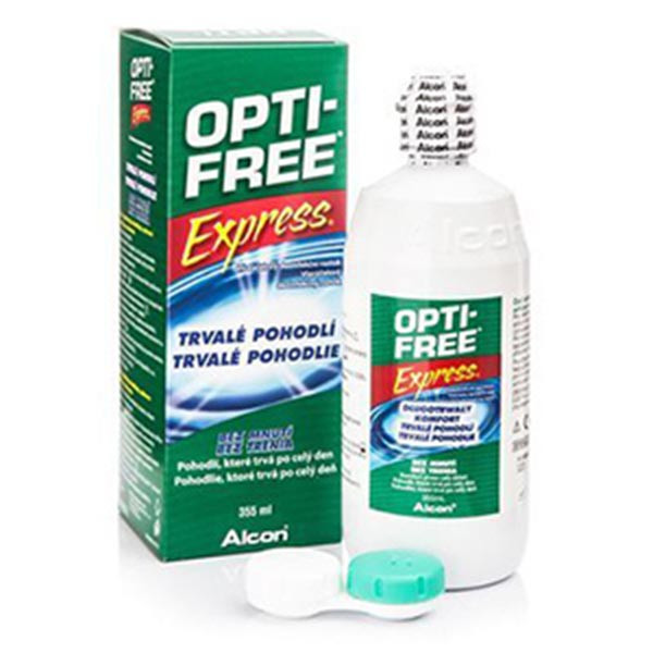 محلول شستشوی لنز اپتی فیری اکسپرس