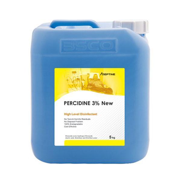محلول ضد عفونی کننده دستگاه دیالیز پرسیدین 3 درصد