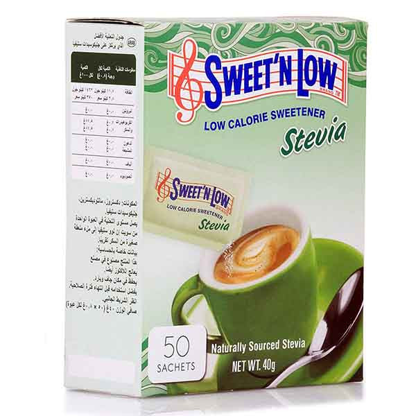 ساشه شیرین کننده دیابتی Sweet'N Low استویا