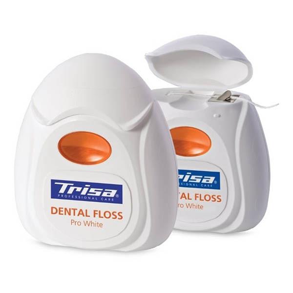 نخ دندان سفید کننده 40 متری نعنایی پرو وایت Pro White تریزا