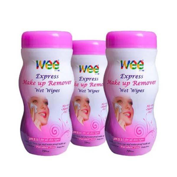 دستمال مرطوب پاک کننده آرایش وی کر اکسپرس 70 برگی